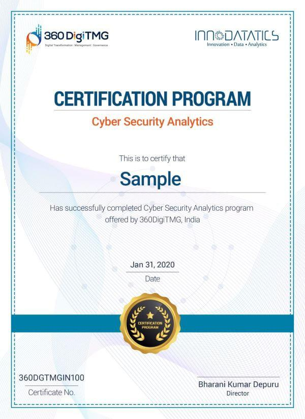 cyber security course certificate in Mysuru