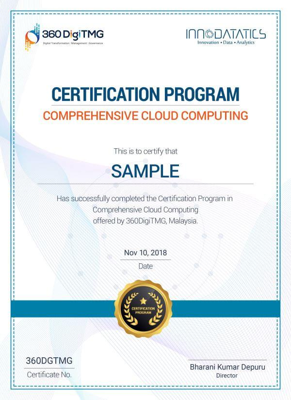 cloud computing course in Varanasi - 360digitmg